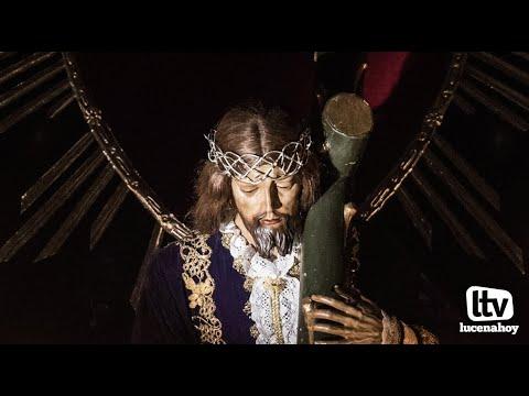 VÍDEO:  Cuaresma en Lucena: Viacrucis de Ntro. Padre Jesús Caído en la parroquia de Santiago