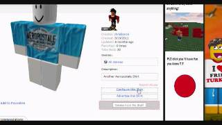 ROBLOX How To Sell Your Shirt/Pants