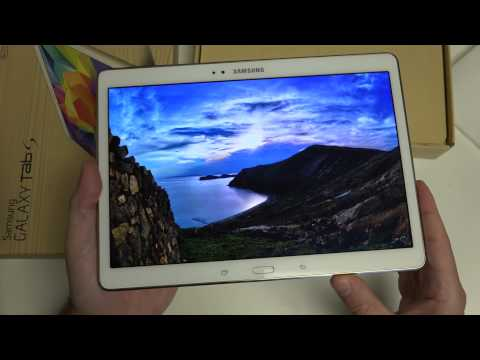 Samsung Galaxy Tab S 10.5 Unboxing and First Look