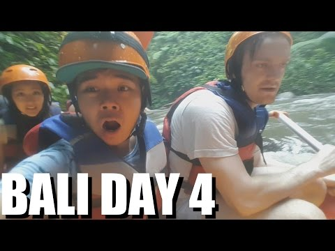 Bali TOP ATTRACTION: RIVER RAFTING in UBUD. My Indonesia Travel Experiences