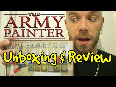The Army Painter Hobby Set 2019 Unboxing & Review