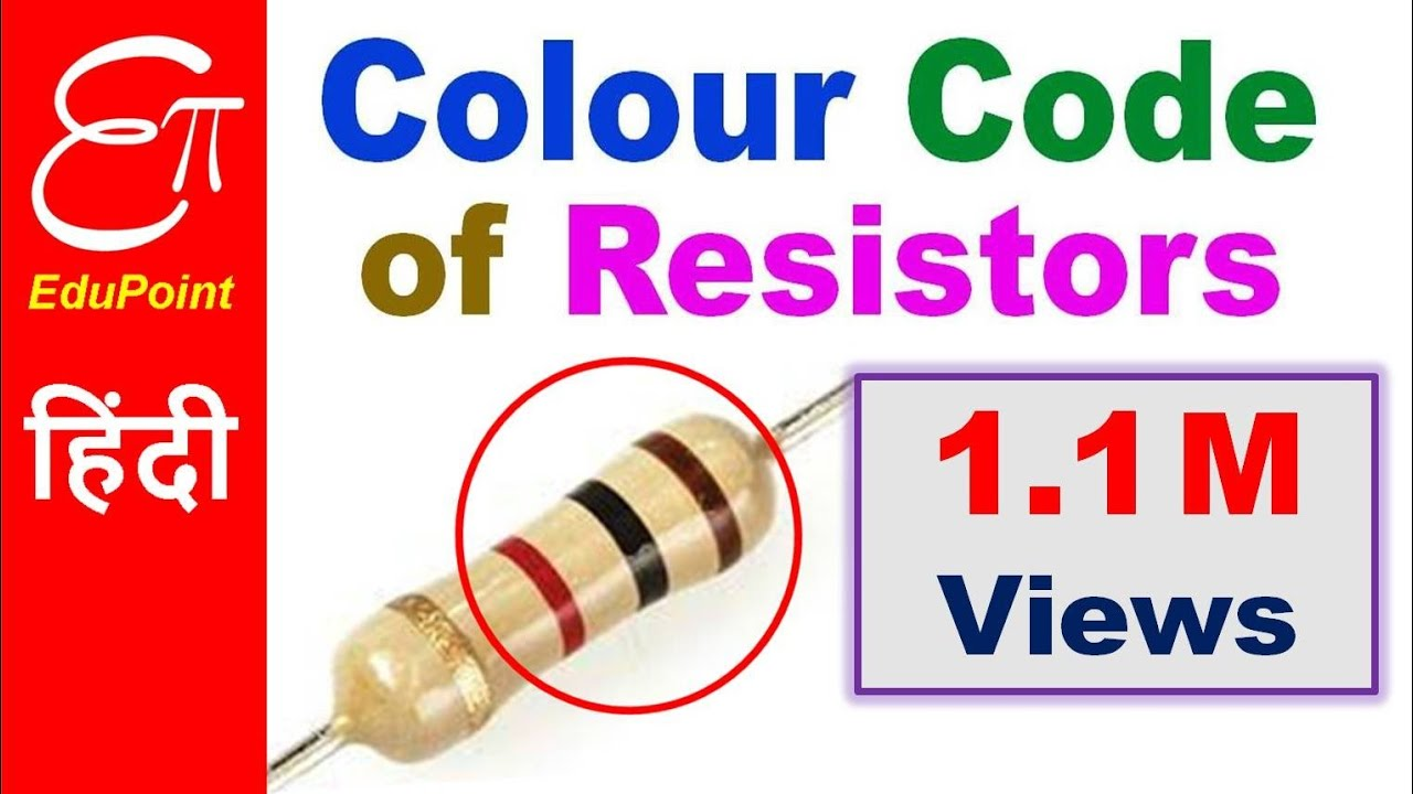 Resistor Color Code In Hindi 4 Band Youtube Diagram Codes
