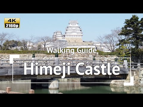 [4K] Japan - Walking Guide To A World Heritage: Himeji Castle