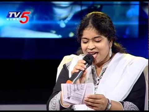 Singer Usha Sings Vani Jayaram Song Rojalo Letha Vannele Song | Gharshana Movie | TV5 News