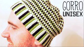 Cómo tejer GORRO UNISEX a Crochet - Paso a Paso