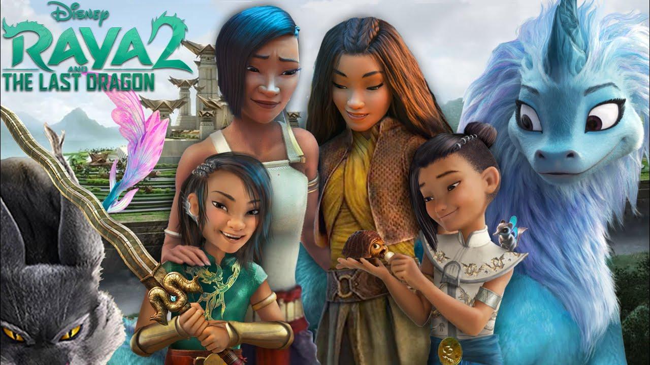 Raya and the Last Dragon 2: Raya and Namaari are together! And they have 2 sons! 🐉✨ | Alice Edit!