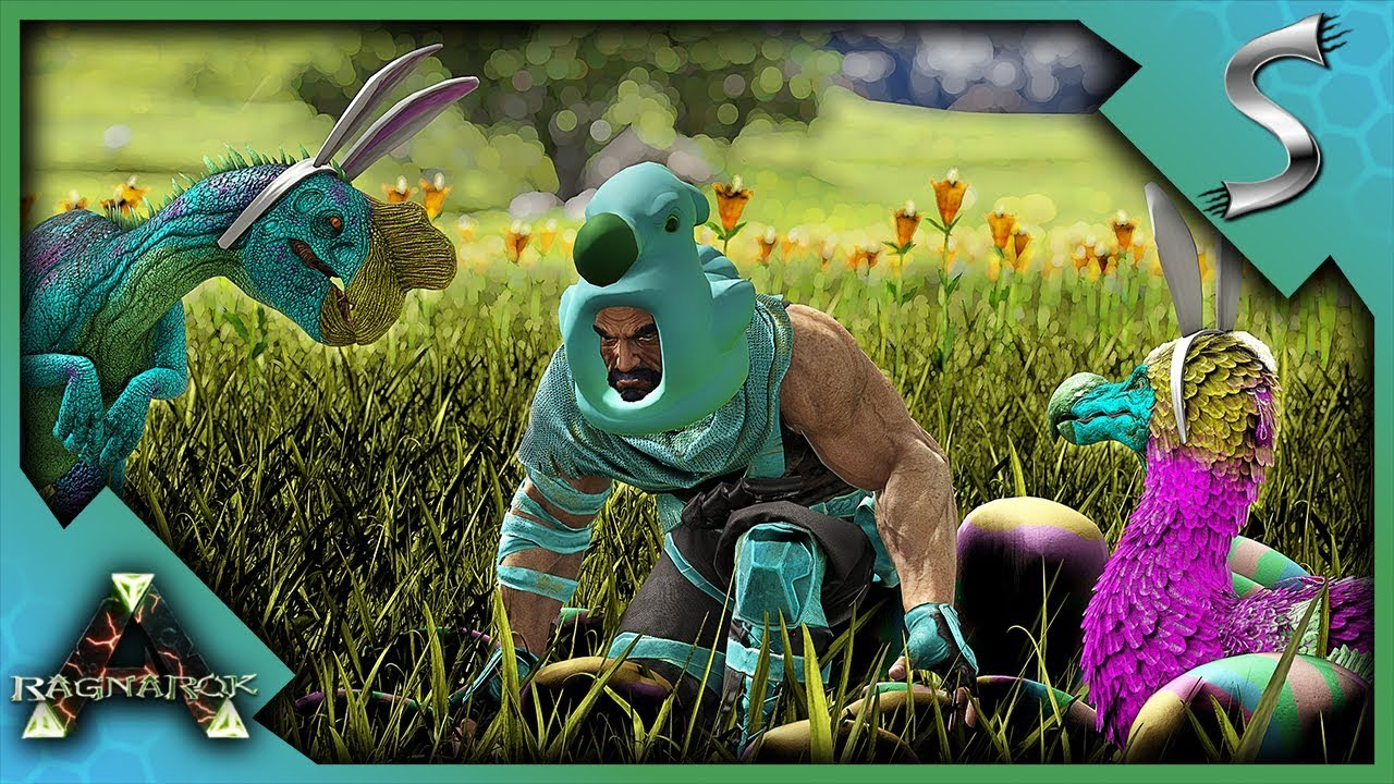 THE NEW EASTER EVENT IS AMAZING! NEW SKINS & TONS OF EGGS! - Ark: Survival  Evolved [Cluster E34]