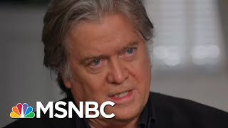 Ari Questions Steve Bannon About Trump Charlottesville Comments | The Beat With Ari Melber | MSNBC