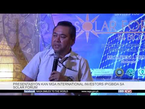Solar Energy Forum: Naga, Bicol July 2017