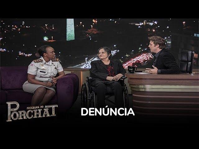 Major explica como a mulher pode pedir ajuda após sofrer violência
