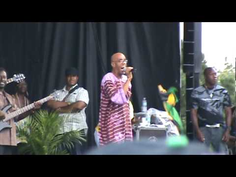 "Frankie Paul - ""Worries in the Dance"" Live @ Jambana Festival, Toronto, ON - 08/02/10"