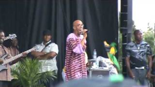 "Frankie Paul - ""Worries in the Dance"" Live @ Jambana Festival, Toronto, ON - 08/02/10"
