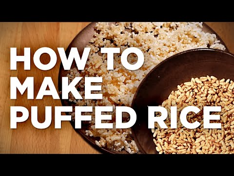 How to Make Puffed Rice | Flavor Lab recipe