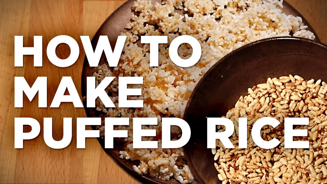 How to Make Puffed Rice: 10 Steps (with
