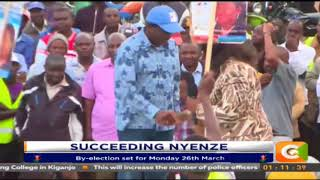Kitui By-election set for Monday 26th March