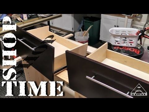 Modifying Vanity Drawers for Plumbing - Part 1 - The Mods