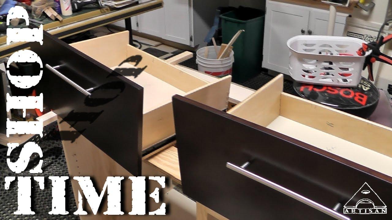 Modifying Vanity Drawers For Plumbing Part 1 The Mods Youtube