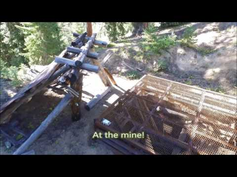 Historic Roberts Mine In The Greenhorn Mining District Near Sumpter Oregon