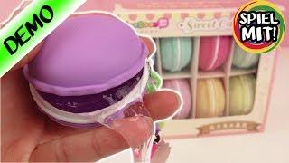 Macarons Slime deutsch | DIY MACARONS Set für selbstgemachte Schlüsselanhänger mit Glibber Schleim