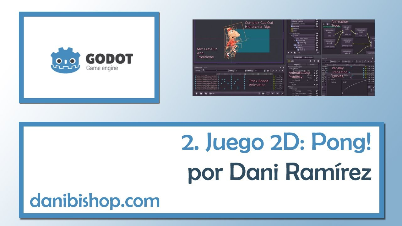 Tutorial Godot Engine - 02 - Juego 2D simple: Pong!