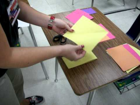 Rational - Irrational Numbers Foldable