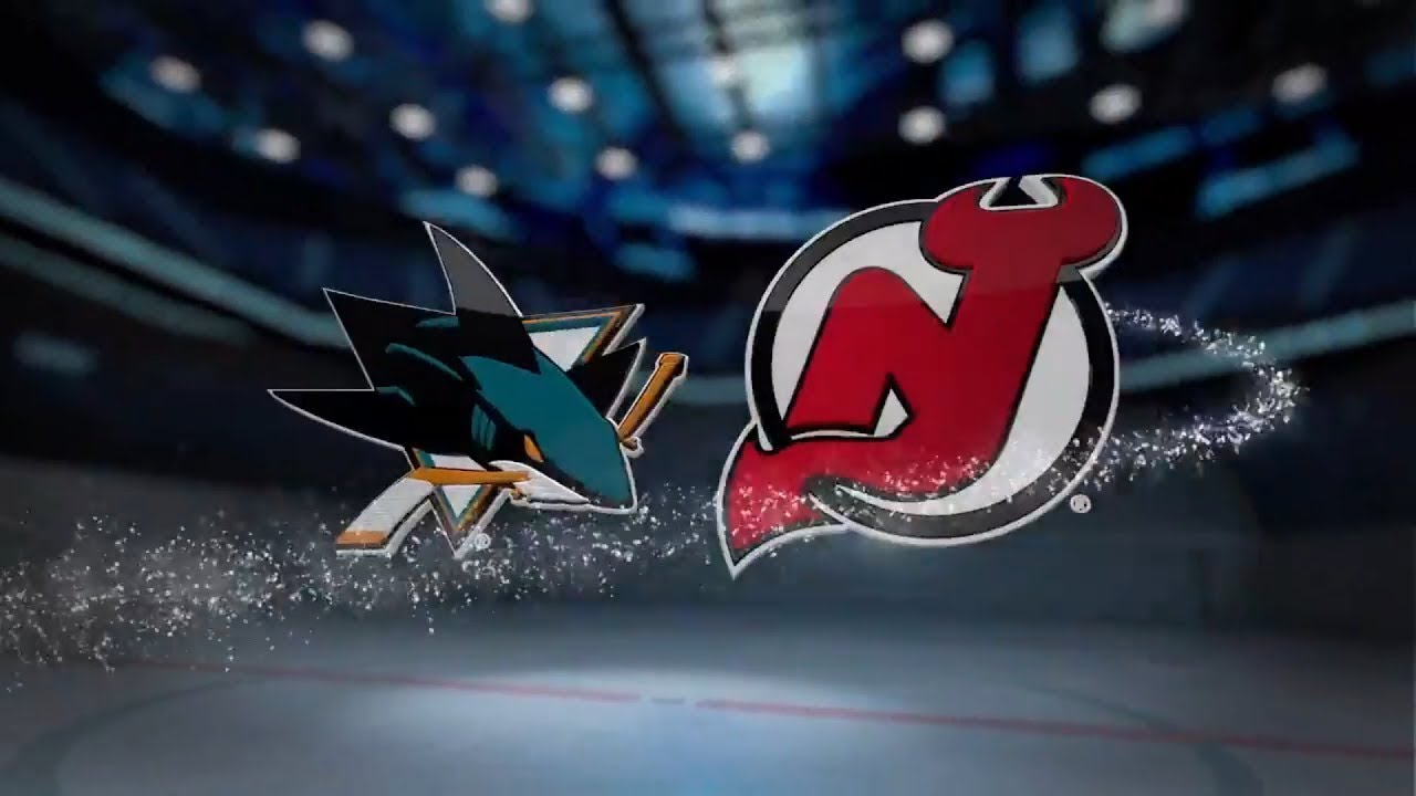 premium selection f0e99 a14a3 San Jose Sharks vs New Jersey Devils (2-3) – Oct. 14, 2018   Game  Highlights   NHL 2018