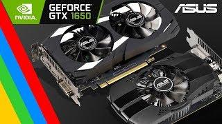 Placa de Video ASUS Nvidia GTX 1650 4GB / 4GB OC