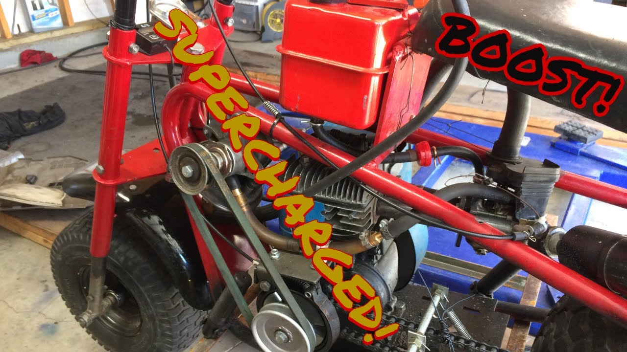 Thunder Piglet  The supercharged Baja mini bike by 1970gizmo2