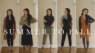 Transitioning Summer Clothes to Fall | Personal Style Journey | Authentic by Frani
