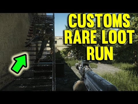 RARE LOOT CUSTOM RUN - ESCAPE FROM TARKOV