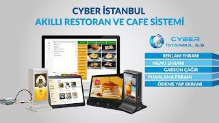 Cyber İstanbul Akıllı Restoran ve Cafe Sistemi