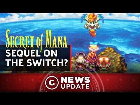 Nintendo Switch Version Of Secret Of Mana Sequel Teased - GS News Update