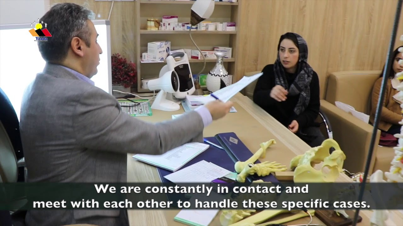 Yazda case management team continue providing support to the victims of human rights violation