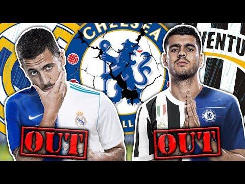 Alvaro Morata & Eden Hazard To LEAVE Chelsea This Summer?! | W&L