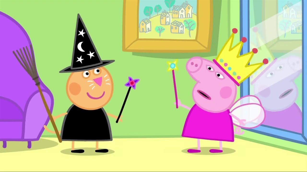 Peppa Pig 🧛♂️ Peppa Pig Halloween Special - Peppa Pig Halloween Dress Up