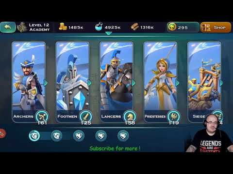 Art of Conquest(AoC) guide for low and high level - human research - resource efficiency