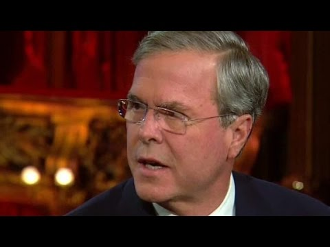 Gov. Jeb Bush: Trump's rhetoric is 'dog whistle...