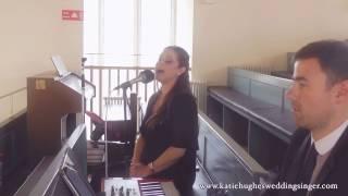 Everlasting Love performed by Katie Hughes Wedding Singer YouTube Thumbnail