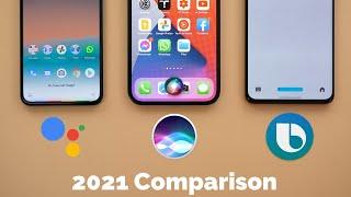 Bixby in OneUI 3.0 vs Google Assistant vs Siri - On Pixel 5, 12 Pro Max & S21 Ultra (2021 Refresh)