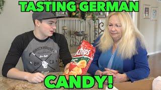 TRYING GERMAN CANDY! (w/ Grandmom)