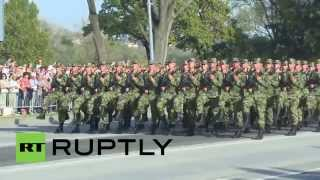Serbia: Belgrade rehearses military parade ahead of Putin visit