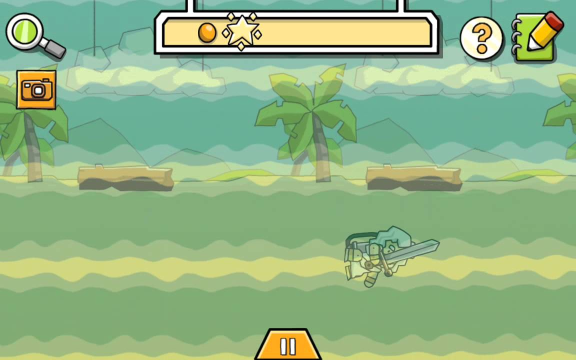 Scribblenauts Remix - Easter Egg Cthulhu Monster