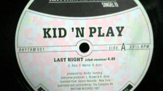 Kid n Play  - Last Night. 1987 (12