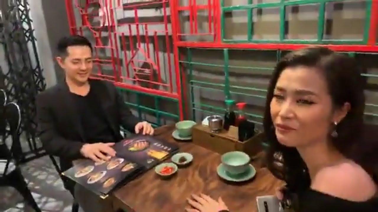 Trấn Thành, Hariwon, Đông Nhi, Ông Cao Thắng và 1 số nghệ sĩ khác đến khai trương A Mà Kitchen