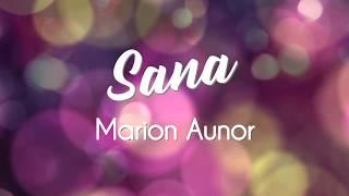 Marion Aunor  - Sana (Up Dharma Down Cover)