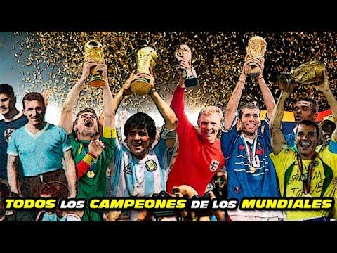All World Cup Finals  (1930-2018) Goals and Highlights