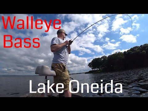 ONEIDA LAKE Fishing For WALLEYE And BASS