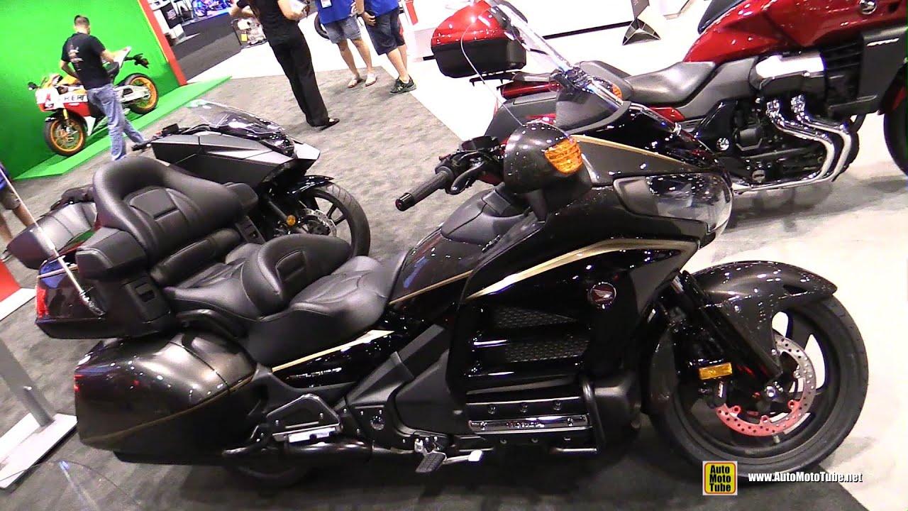 2016 Honda Goldwing >> 2016 Honda Gold Wing Walkaround 2015 Aimexpo Orlando