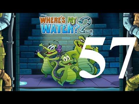 Where's My Water 2 Level 57: Hydroelectric Fan 3 Ducks iOS Walkthrough