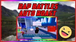 Roblox: ⭐ Rap Battles 🎤 ROAST PEOPLE SCRIPT